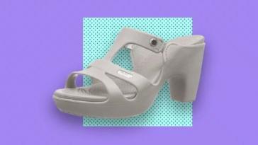 High Heel Crocs